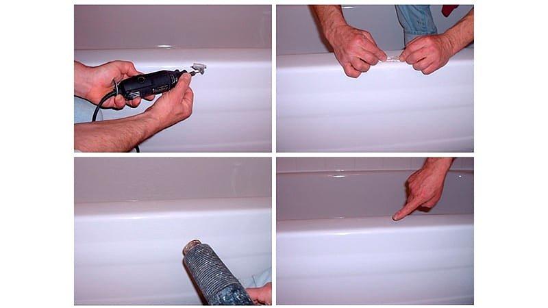 Реставрация ванн акрилом в Киеве недорого
